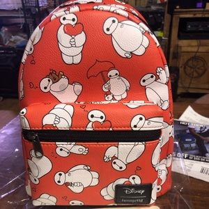 Disney loungefly Baymax big hero 6 backpack BNWT